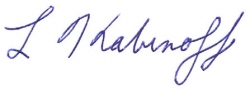 Larry's Signature